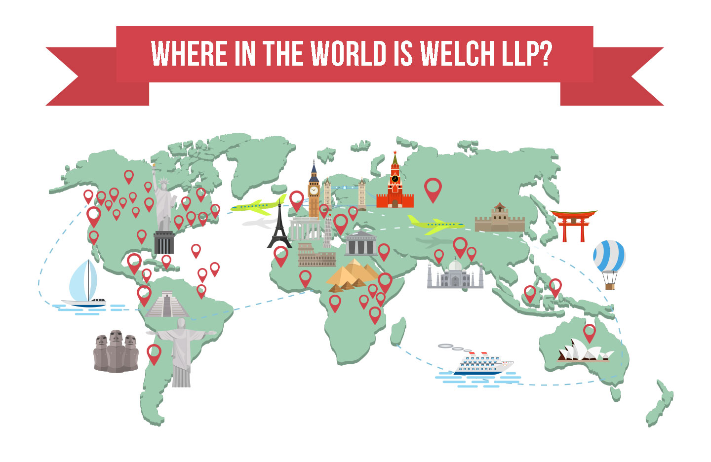 Where in the world is Welch LLP?