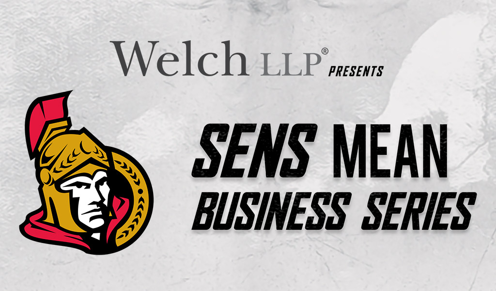Welch LLP Presents: Sens Mean Business, Entrepreneurship