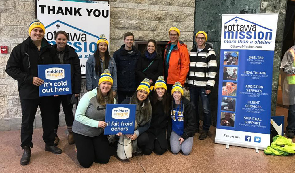 Welch LLP participates in 'Coldest Night of the Year' raising $2,600