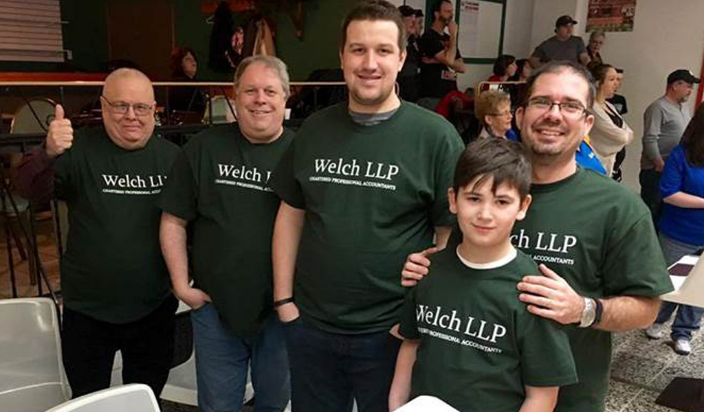 Welch Cornwall Office participates in 'Big Brothers Big Sisters Bowl' for Kids' Sake Tournament