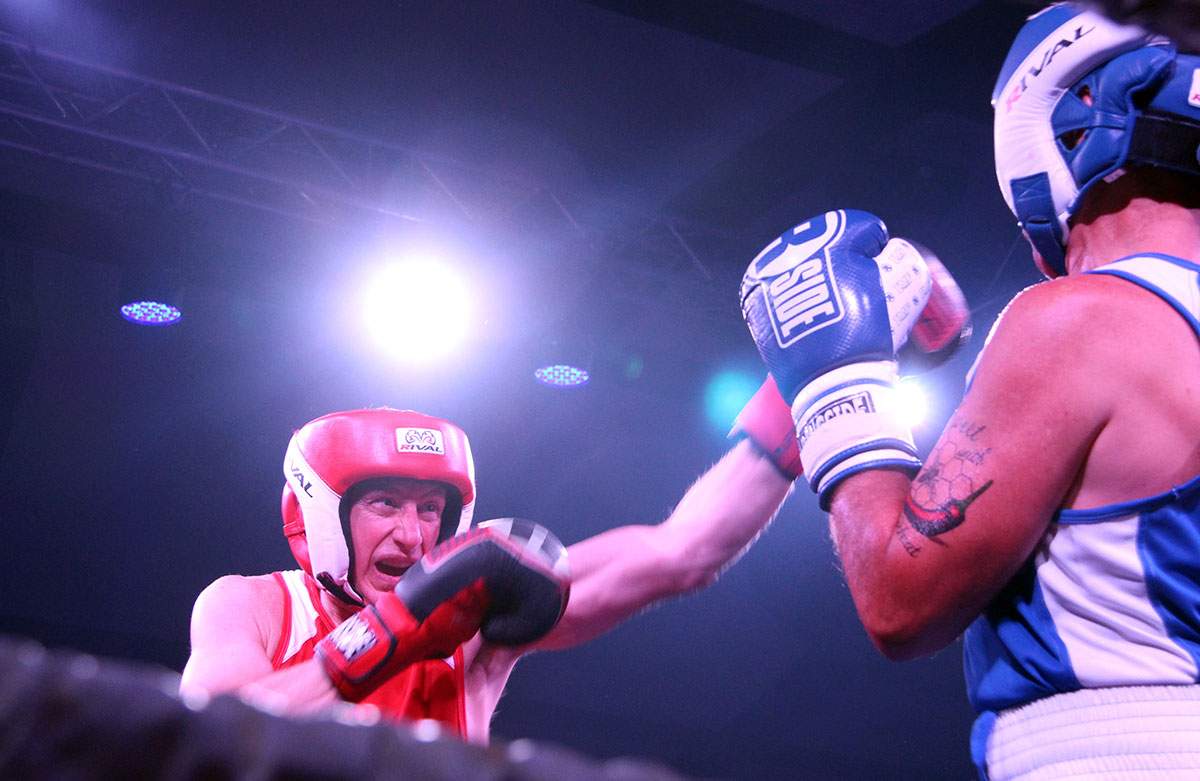 Micheal Burch takes on Steve McBurney at the Fight for the Cure