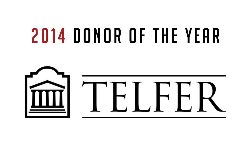 2014 Telfer Donor of the Year Award