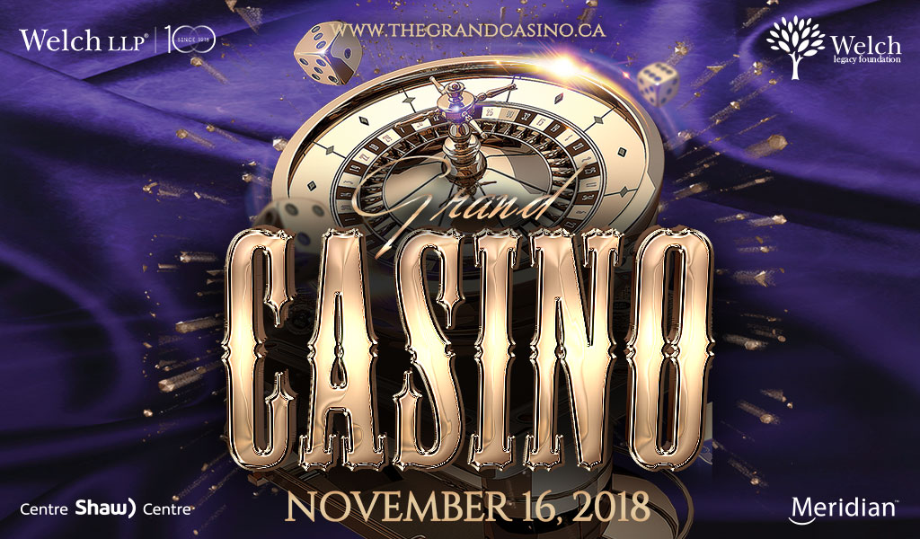 Join us for an evening of mingling and gambling in support of The Ottawa Regional Cancer Foundation on November 16th!