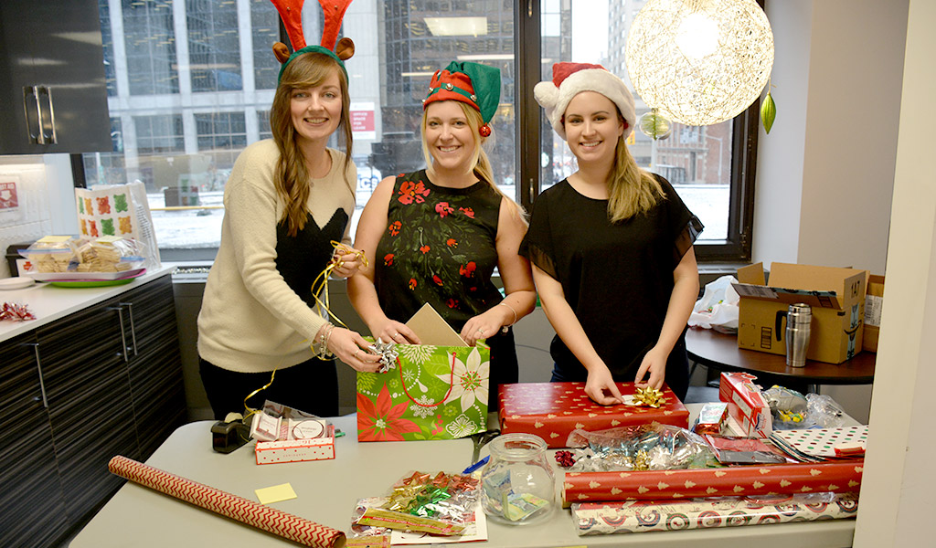 From left: Jen Murray, Virginia Dodsworth, Brittany Leach Welch LLP