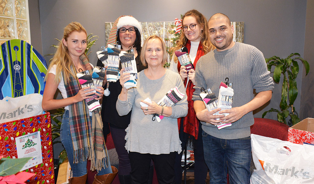 100 Socks - Welch LLP Gives Back This Holiday Season