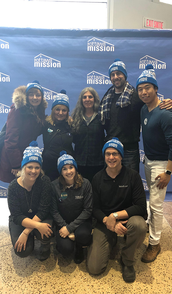 Welch LLP Participates in Coldest Night of the Year 04