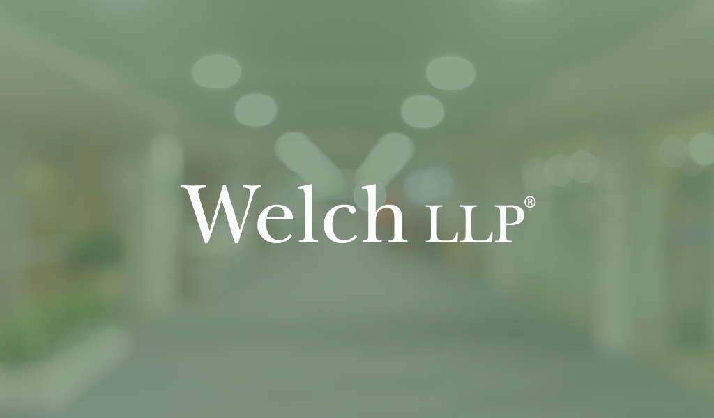 Welch LLP news update